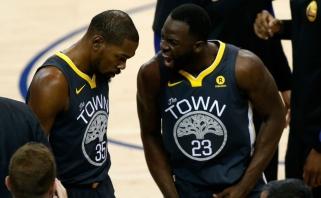 """D.Greenas apie konfliktą su K.Durantu: """"Į pasakymą: """"Duok sušiktą kamuolį"""" atsakiau: """"Supranti, su kuo kalbi?"""""""