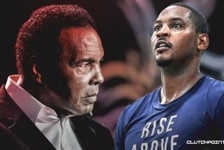 C.Anthony prisiminė susitikimą su bokso legenda M.Ali: tiesiog susilydžiau, bet reikėjo susikaupti