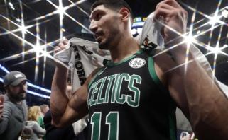 E.Kanteris: NBA žaidėjai turkai nekalba su manimi, nusisuka