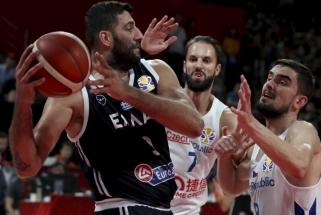 Krepšinio mohikanas I.Bourousis atsisveikino su Graikijos rinktine