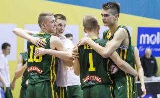 18-mečiai ketvirtfinalyje susitiks su rusais (T.Sedekerskio video komentaras)