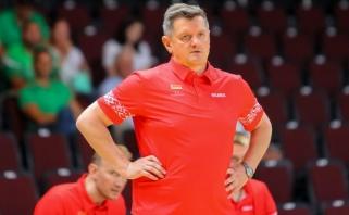 Baltarusijos rinktinės treneris prieš mačą su Lietuva: tai - tiesiog fantastika