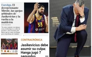 Ispanijoje – priekaištai ne tik Mirotičiui: kvestionuojami ir Jasikevičiaus sprendimai