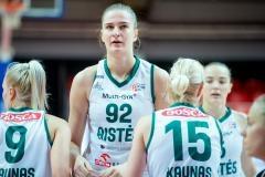 Tik sausį iš Lenkijos į Kauną persikėlusi D.Šarauskaitė - Moterų lygos reguliariojo sezono MVP