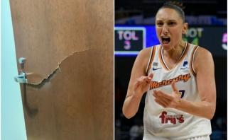 Čempionės titulo nelaimėjusi WNBA žvaigždė išlaužė drabužinės duris
