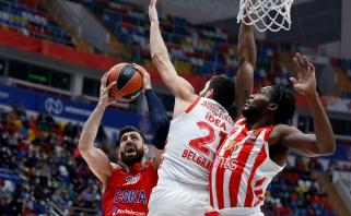CSKA užtikrintai įveikė svečius iš Belgrado