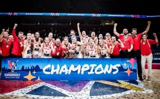 Ispanės labai lengvai apgynė Europos čempionių titulą