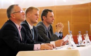Apie Lietuvos krepšinio grėsmes diskutuota konferencijoje Vilniuje
