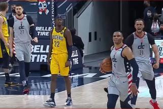 Westbrooko lemiamas blokas – gražiausias NBA nakties momentas