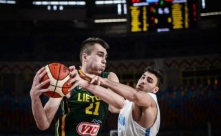 Lietuviai įveikė Argentiną ir kovos dėl penktos vietos pasaulio čempionate