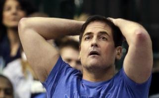 """NBA nubaudė """"Mavericks"""" savininką M.Cubaną už informacijos paviešinimą"""