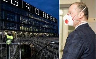 Vyriausybės signalas, kurio laukė ir Eurolyga: sportas į arenas grįžti galės, bet žiūrovai – ne