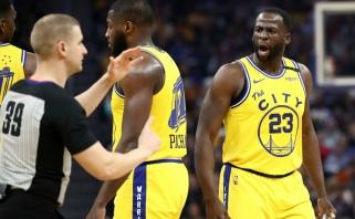 """""""Lakers"""" ir be L.Jameso pasiekė didžiausią sezono pergalę, emocingas D.Greenas išvarytas iš aikštės (rezultatai)"""