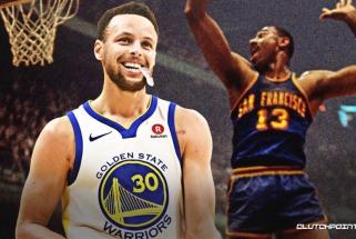 """53 taškus prieš """"Nuggets"""" pelnęs Curry aplenkė legendinį Chamberlainą (rezultatai)"""