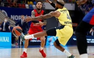 Komandinį žaidimą demonstravusi CSKA - per žingsnį nuo finalo ketverto