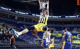 """Įspūdinga: """"Fenerbahče"""" su Ulanovu Eurolygoje iškovojo septintą pergalę iš eilės"""