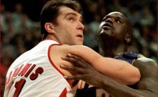 """Sh.O'Nealas ir R.Horry pavadino 2000-ųjų """"Blazers"""" su A.Saboniu sunkiausiu """"Lakers"""" varžovu"""