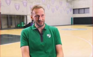 """""""Žalgirio trenerio asistentas A.Woltmannas: apie lyderį Schillerį bei ankstesnį darbą Eurolygoje"""
