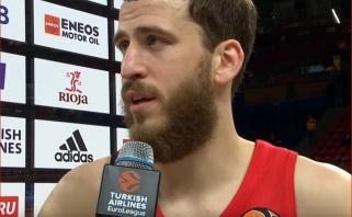 S.Rodriguezas barzdos nesiskustų net laimėjus Eurolygą