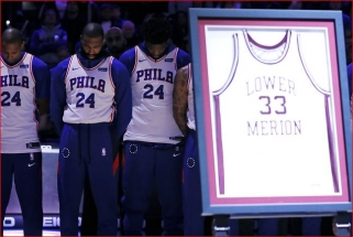 """""""76ers"""" planuoja iškelti į arenos palubes Kobe Bryanto marškinėlius"""