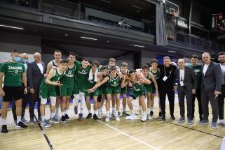 """Žalgiriečiai mažajame finale sutriuškino """"Anadolu Efes"""", nugalėtojas – """"Real"""""""