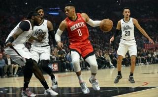 """""""Clippers"""" bandys įsigyti Westbrooką"""
