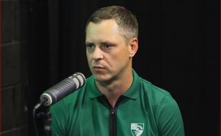 """""""Žalgirio"""" skautą nustebino naujasis treneris: negalėjau prie nieko prikibti"""