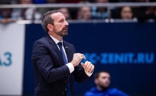 J.Plaza po pralaimėjimo Eurolygos čempionams: į CSKA žiūrėjome su pernelyg didele pagarba