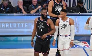 """Dr vieni grandioziniai mainai NBA: """"Thunder"""" žvaigždė R.Westbrookas keliasi į Hjūstoną"""
