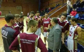 LSKL reguliariojo sezono nugalėtojais tapo VDU krepšininkai (rezultatai, komentarai)