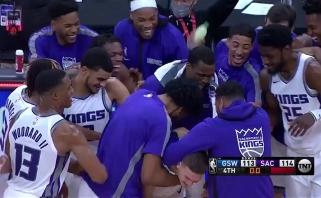 """Mirtinas """"Kings"""" šūvis ir monstriškas """"Rockets"""" puolėjo dėjimas - gražiausi NBA momentai"""