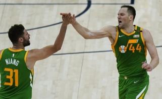 """""""Jazz"""" lyderis užtemdė NBA žvaigždę, čempionai grimzta į dugną"""