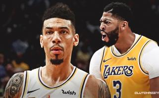 """D.Greenas į geriausių visų laikų """"Lakers"""" žaidėjų penketą įtraukė pirmą sezoną žaidžiantį A.Davisą"""