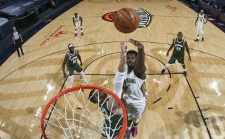 Generalinėse NBA repeticijose – įspūdingi Williamsono ir Daviso šou