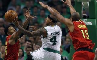 """""""Hawks"""" eliminavo """"Celtics"""" krepšininkus ir pateko į Rytų konferencijos pusfinalį"""