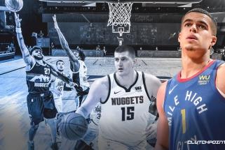 """""""Nuggets"""" puolėjas pasiskundė, kad visas jų žaidimas vyko per dvi komandos žvaigždes"""