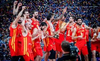 Ispanai - naujieji pasaulio krepšinio karaliai!