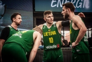 Latviams nusileidusi Lietuvos 3x3 rinktinė olimpiadoje nežais