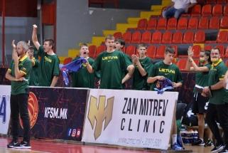 FIBA Challenger turnyre šešiolikmečiai sutriuškino rumunus