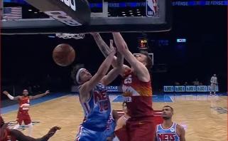 Buvusio žalgiriečio dėjimas ir LeBrono tritaškis nežiūrint į krepšį - gražiausi NBA momentai