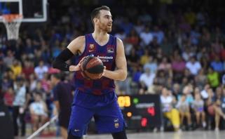 Į Jasikevičiaus ateities planus nebepatenkantis veteranas Barselonos palikti nenori