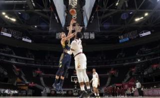 Pasiruošimą NBA sezonui Sabonis pradėjo galingu dvigubu dubliu Klivlande