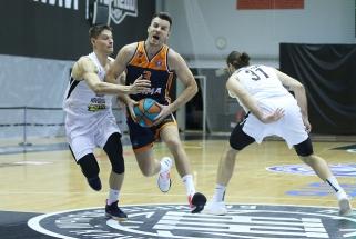 Maksvyčio komanda su dviem lietuviais patyrė nesėkmę Vieningoje lygoje