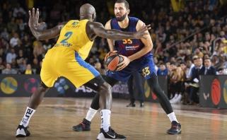 """""""Maccabi"""" skaudžiai baudęs N.Mirotičius - Eurolygos turo MVP"""