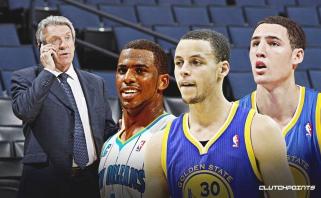L.Riley apie gandą dėl S.Curry ir K.Thompsono iškeitimą: būtų įdomu sužinoti, iš kur tai ištraukė