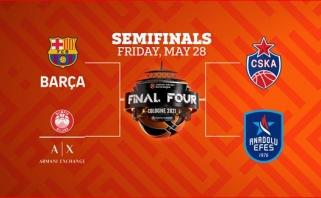 """Eurolyga nuo ketvirtadienio transliuos Finalo ketvertą savo """"Facebook"""" ir """"Youtube"""" platformose"""