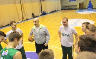 Panevėžyje - rinktinių trenerių dėmesys jauniesiems krepšinio talentams
