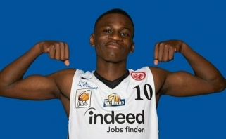 """""""Žalgirio"""" sistemą papildė vienas talentingiausių Vokietijos krepšininkų"""