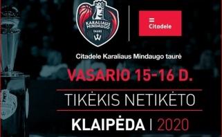 Prasidėjo prekyba bilietais į Karaliaus Mindaugo taurės finalo ketvertą