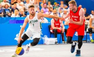 Lietuvos 3x3 rinktinė - Europos žaidynių ketvirtfinalyje!